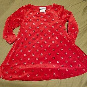Rare editions Christmas dress 3t
